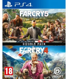 Far Cry 4 + Far Cry 5 Double Pack [PS4]